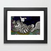 Cheshire Cat HiDef Framed Art Print