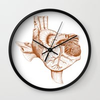 The Heart of Texas (UT) Wall Clock