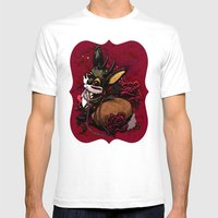 Jackalope, Pearls, And R… Mens Fitted Tee White SMALL