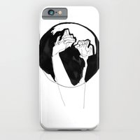 iPhone & iPod Case featuring moonlight hands by iszaa syyskuu