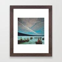 Una Strana Palla è Arri… Framed Art Print
