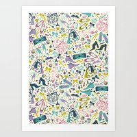 Heels And Handbags (swee… Art Print