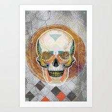Another Skull Art Print