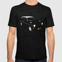 Weasley's Flying Ford Anglia Mens Fitted Tee Tri-Black SMALL