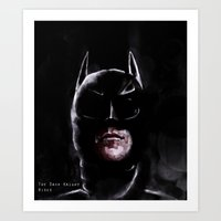 Gotham's Knight Art Print