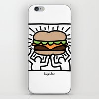 Pop Art Burger #1 iPhone & iPod Skin