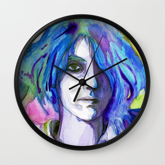 """Are We There"" by Cap Blackard Wall Clock"
