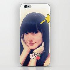 Ollyne Apple with Star iPhone & iPod Skin