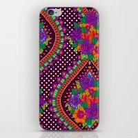 Ivy Purple iPhone & iPod Skin
