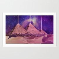 Hipsterland - Egypt Art Print