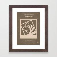 No243 My Memento Minimal… Framed Art Print