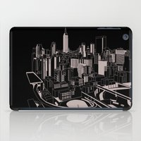 New York Black and White iPad Case