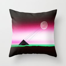 Two way traffic Throw Pillow