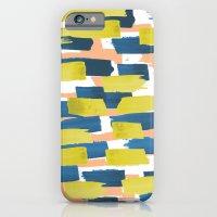 beach stripe iPhone 6 Slim Case