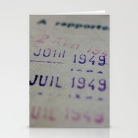 Due Date Stationery Cards