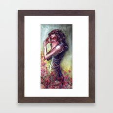 Volatile Framed Art Print