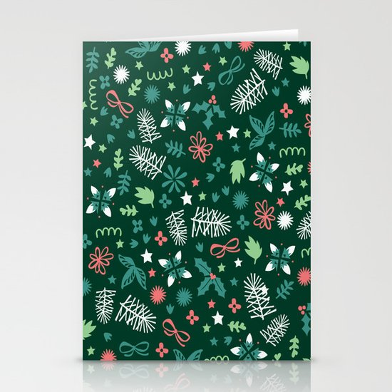 Have a Holly Jolly Christmas  Stationery Card
