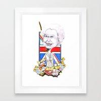 Rule Britannia Framed Art Print