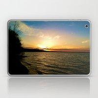 Sun on Big Platte Laptop & iPad Skin