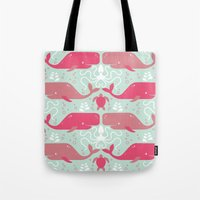 Whales & Friends Tote Bag