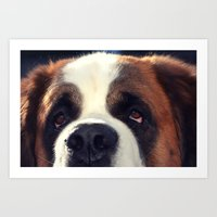 Happiness is My Dog Art Print