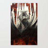 Burning Bright Canvas Print