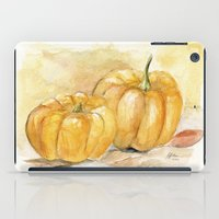 Mini Pumpkins II iPad Case