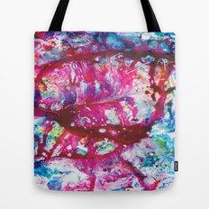 Crystal Heart Tote Bag