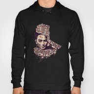 Frida Kahlo Flowers Hoody