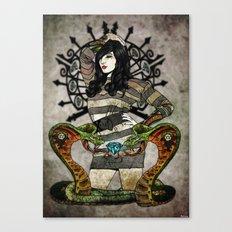 Cobra Carbon Canvas Print