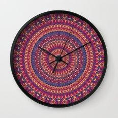 Mandala 166 Wall Clock