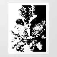 Black Eye Art Print