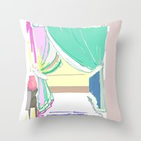 Vermont Window Throw Pillow