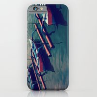 iPhone & iPod Case featuring Little Boats by NikkiMaths
