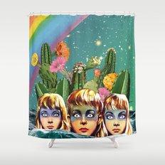 Future Islands Shower Curtain