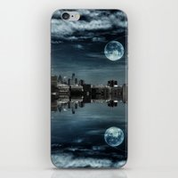 Night in the Reflection iPhone & iPod Skin