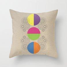 Reverse Throw Pillow