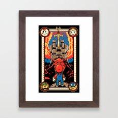Epic Legend of the Seven Stars Framed Art Print