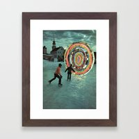 F*cking Portals Framed Art Print