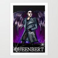 QUEENBERT Art Print