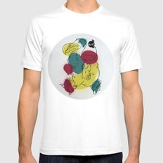 Dodo White Mens Fitted Tee SMALL