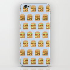 BURGER PATTERN iPhone & iPod Skin
