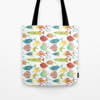 Little flowers and friends Tote Bag
