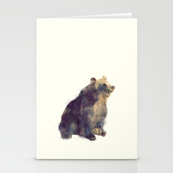 Bear // Nova Stationery Card