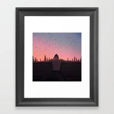 Flock Framed Art Print