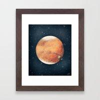 The Red Planet Framed Art Print