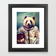 Framed Art Print featuring The Greatest Adventure by Rubbishmonkey