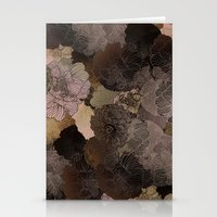 vintage floral shades Stationery Cards