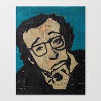 Tsch - Woody Allen  Canvas Print