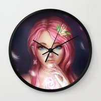 Fluttershy Wall Clock